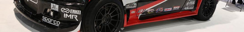 Enkei NT03RR Wheels on BMW Drift Car